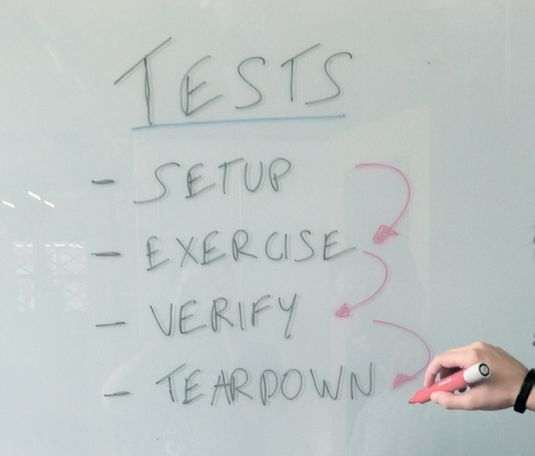 Improve your test readability using the xUnit structure