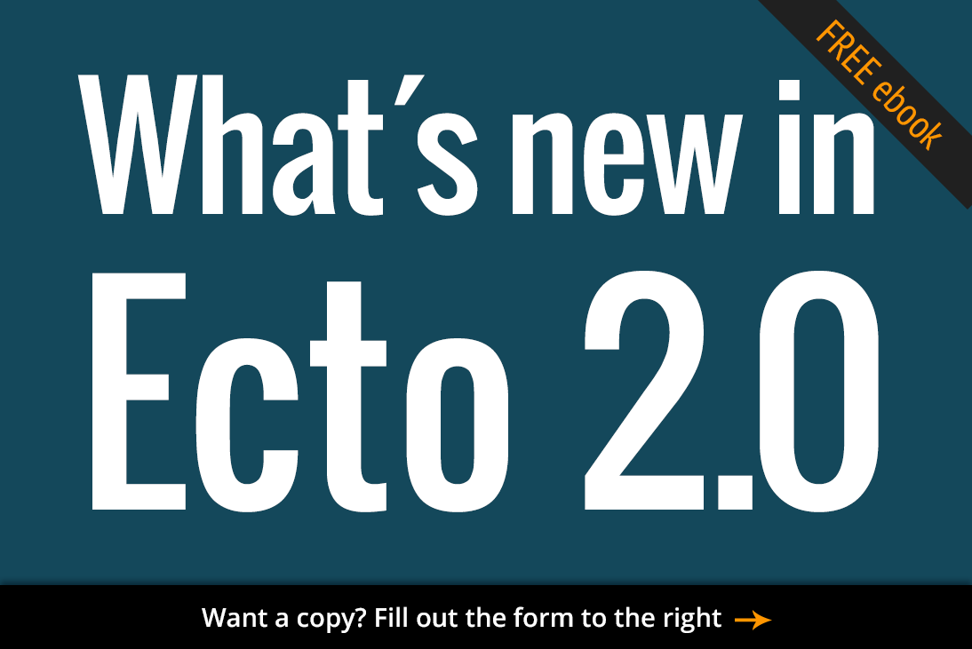 Free ebook: What's new in Ecto 2.0