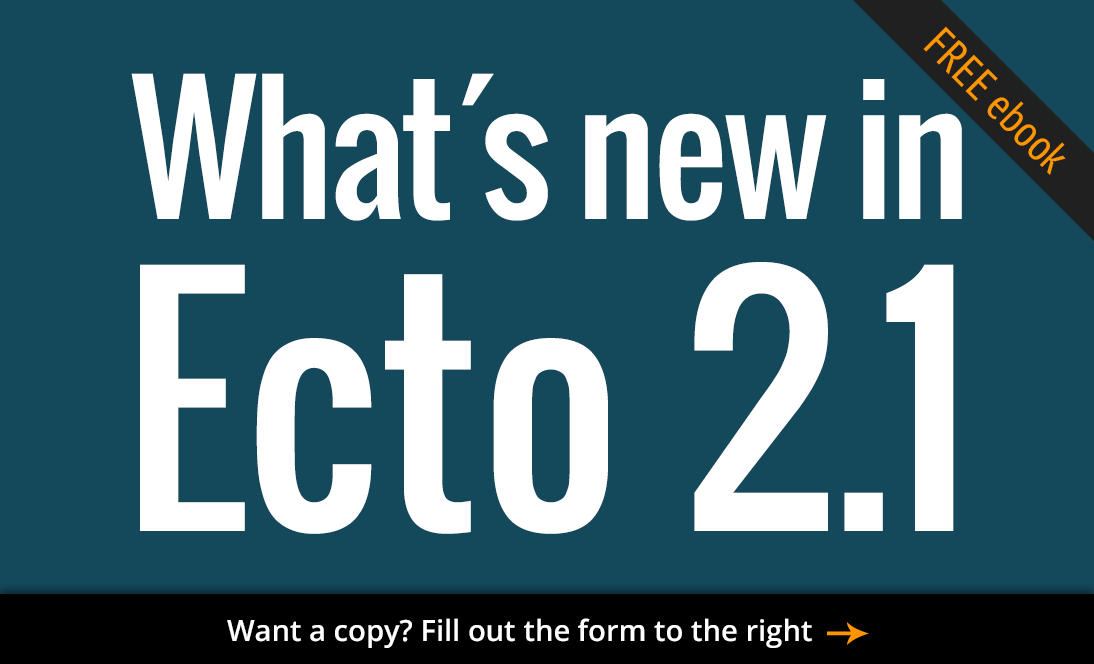 Free ebook: What's new in Ecto 2.1