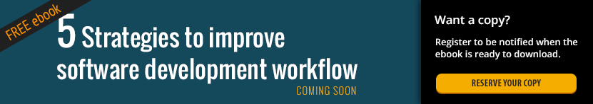 5 Strategies to Improve a Software Development Workflow -- Reserve your copy